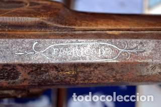Militaria: ESCOPETA DE CHISPA ESPAÑOLA CON PUNZONES DE ARMERO. EIBAR 1821 - Foto 6 - 81214188