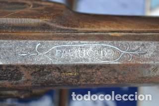 Militaria: ESCOPETA DE CHISPA ESPAÑOLA CON PUNZONES DE ARMERO. EIBAR 1821 - Foto 7 - 81214188