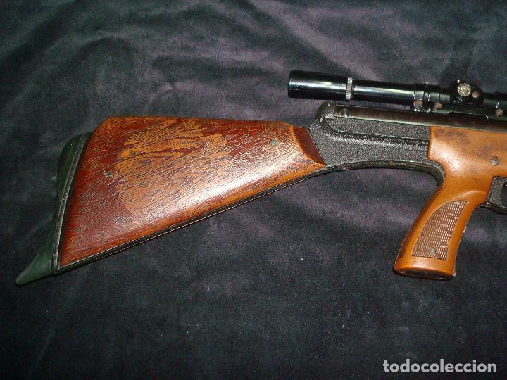 Militaria: escopeta de aire comprimido gamo 68 con mira telescopia y funda - Foto 2 - 144295333