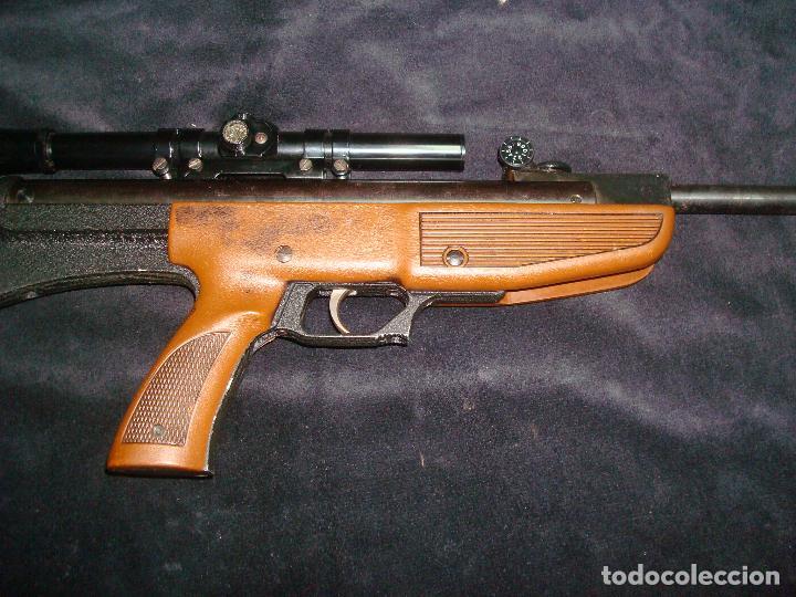 Militaria: escopeta de aire comprimido gamo 68 con mira telescopia y funda - Foto 3 - 144295333