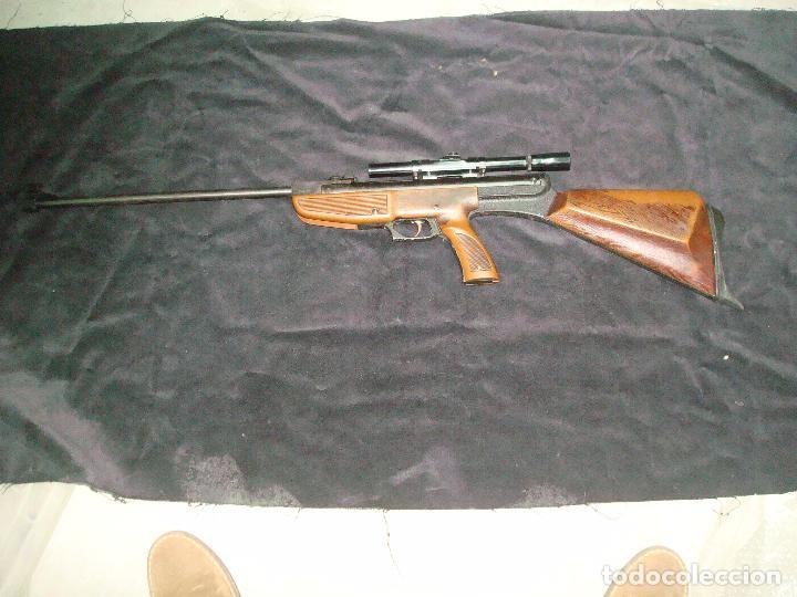 Militaria: escopeta de aire comprimido gamo 68 con mira telescopia y funda - Foto 5 - 144295333