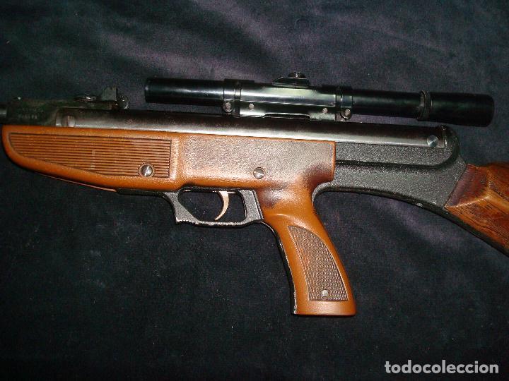 Militaria: escopeta de aire comprimido gamo 68 con mira telescopia y funda - Foto 7 - 144295333