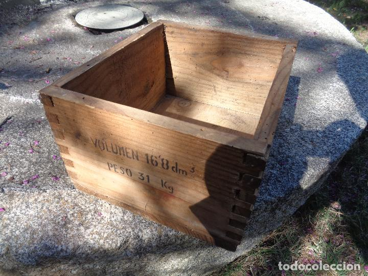Militaria: caja madera municion santa barbara - Foto 2 - 85074016