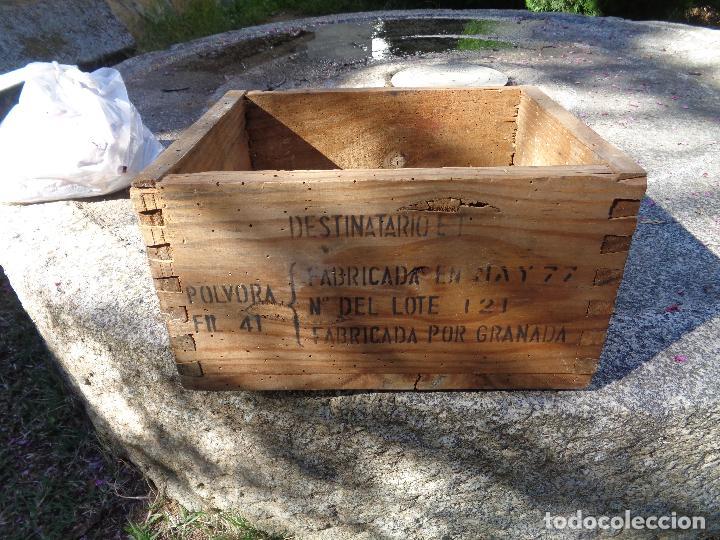 Militaria: caja madera municion santa barbara - Foto 4 - 85074016