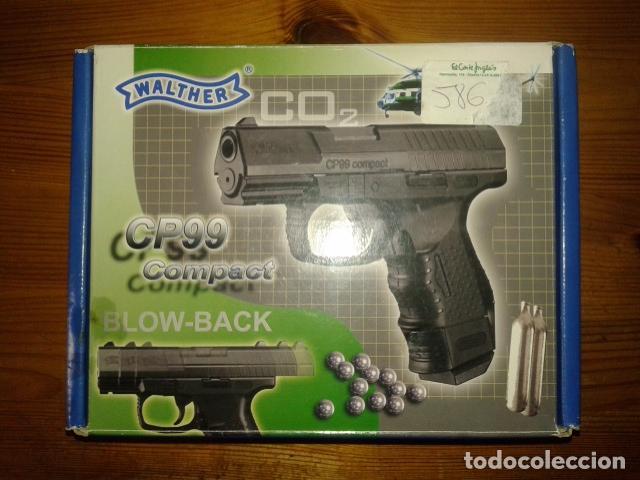 Pistola de co2 walther cp99 compact de umarex - Sold at
