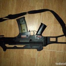Militaria: FUSIL DE ASALTO H&K G36C MARUI(DOS CARGADORES Y MIRILLA ). Lote 90064024