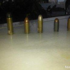 Militaria: COLECCION MUNICION ARMA CORTA. Lote 95563443