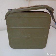 Militaria: CAJA MUNICION RUSA AMETRALLADORA MAXIMS. Lote 95723455