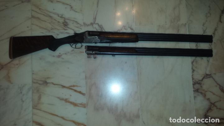 Militaria: escopeta Ugartechea 152EX alta gama ,2 juegos de cañones - Foto 2 - 96303563