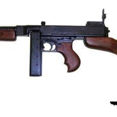 Militaria: USA SUBFUSIL M1928A1 THOMPSON REPLICA DENIX SEGUNDA GUERRA MUNDIAL. Lote 96755611