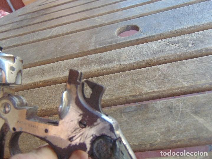 Militaria: REVOLVER PISTOLA ESPANTAPERROS DETONADOR DE FOGUEO TIPO EUSCARO MARCADO DEFENSOR PAT Nº123855 - Foto 25 - 98355767