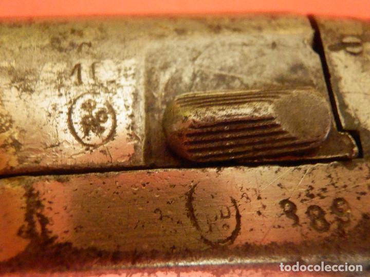 Militaria: Pistola - Colt 1872 - Gun Derringer - Nº 3 - Calibre 41 anular -Un tiro, One Shot - Gatillo muy raro - Foto 6 - 98626659