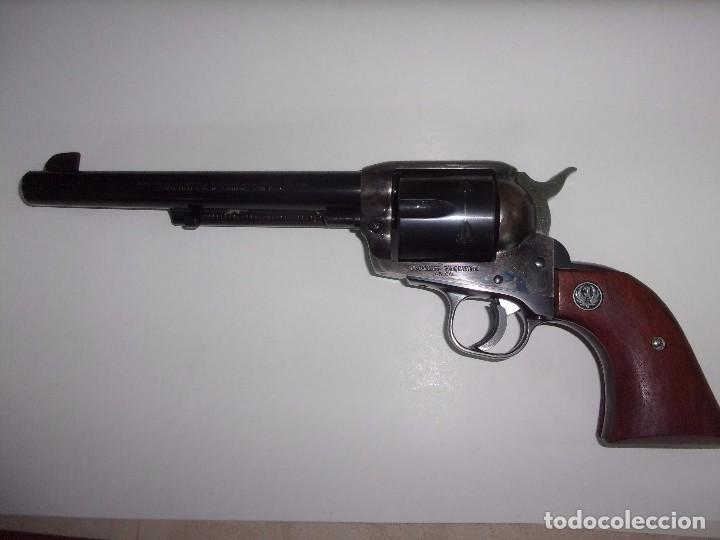 REVOLVER RUGUER VAQUERO CAL45 USA (Militar - Armas de Fuego en Uso)
