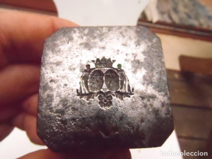 Militaria: PUNZON ARMA FABRICANTE A CHALEYER SAINT ETIENNE EPOCA 1800 - 1850 FORJA DE CAÑON PIEZA DE MUSEO - Foto 4 - 99312347