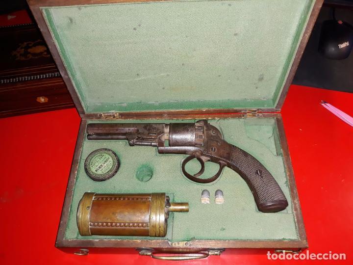 Militaria: Revólver Pryse & Cashmore en caja Completo Inglaterra 1855 - Foto 4 - 102540535