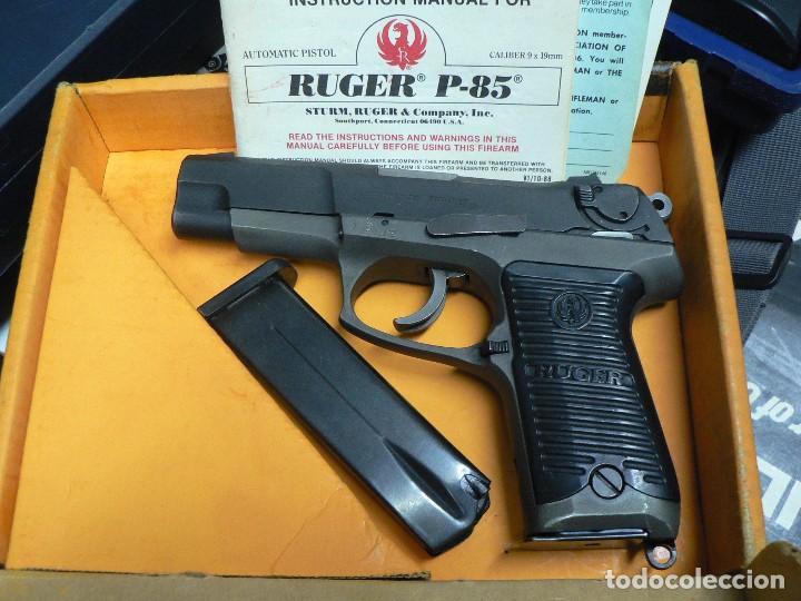 RUGER 9 MM PARABELLUM. (Militar - Armas de Fuego en Uso)