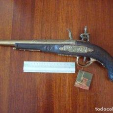 Militaria: REPLICA DE PISTOLA HADLEY 1760 LONDON. Lote 103180703