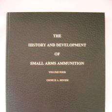 Militaria: LIBRO DE CARTUCHOS DE COLECCION E HISTORICOS DEL SIGLO XIX,ENCUADERNACION DE LUJO, NUEVO. Lote 103235667