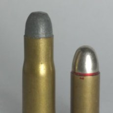 Militaria: 6,8 X 28 SCHULHOF, 6,8 X 28 R , GEORG ROTH -CARTUCHO INERTE DE COLECCIÓN--. Lote 103837703