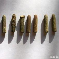 Militaria: LOTE DE 7 BALAS INERTES. Lote 104108423