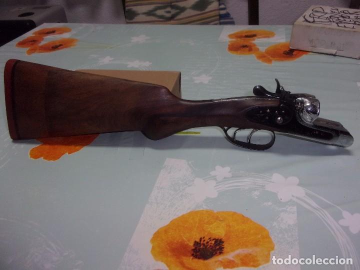 Militaria: ESCOPETA PERRILLOS EL TRUST IBARRES CAL 16 - Foto 2 - 105388623