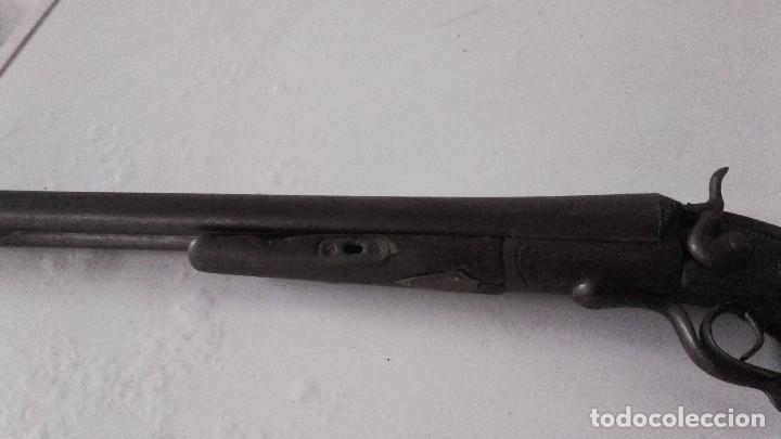 ESCOPETA ANTIGUA DE PERRILLOS CAL 16 (Militar - Armas de Fuego en Uso)