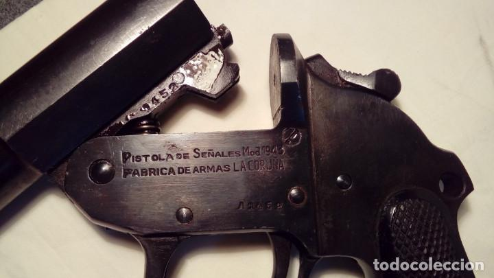 Militaria: Lanzabengalas CORUÑA modelo 1943 - Foto 3 - 106981071