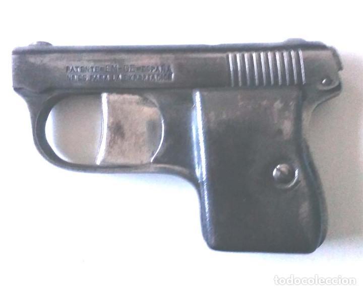 Militaria: Pistola Detonadora casa Moritz y Gerstenberger de Zella Alemania año 1910, espanta Perros, con caja - Foto 2 - 108855123