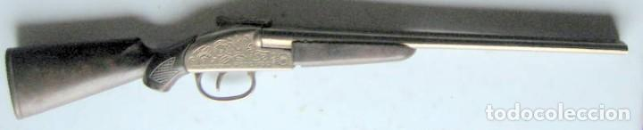 Militaria: PEQUEÑA ESCOPETA DE CAZA - 26 cm - Foto 3 - 108860543