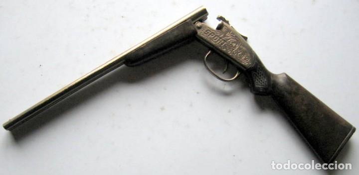 Militaria: PEQUEÑA ESCOPETA DE CAZA - 26 cm - Foto 4 - 108860543