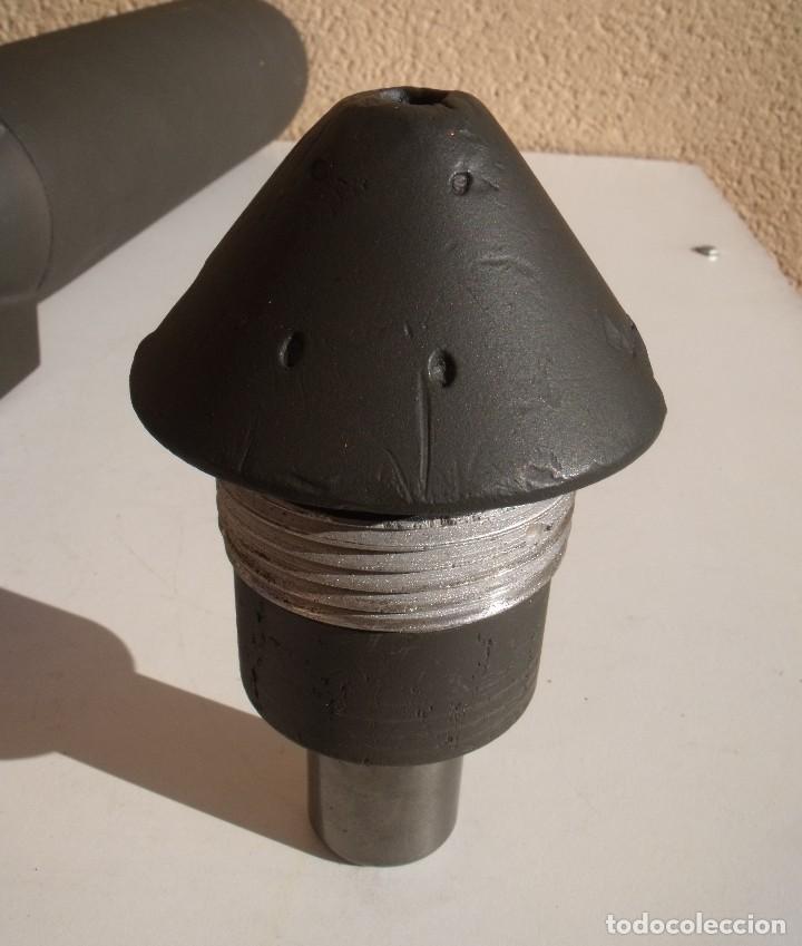 Militaria: BOMBA ALEMANA DE AVIACION DE 10 KG SC 10 DE INSTRUCCION USADA EN LA GUERA CIVIL ESPAÑOLA Y 2ª GM - Foto 4 - 109555155