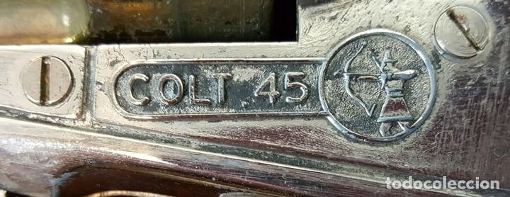 Militaria: PISTOLA DE JUGUETE. COLT 45. NEMROD PATENTADO. METAL Y RESINA. CIRCA 1950. - Foto 7 - 111871795