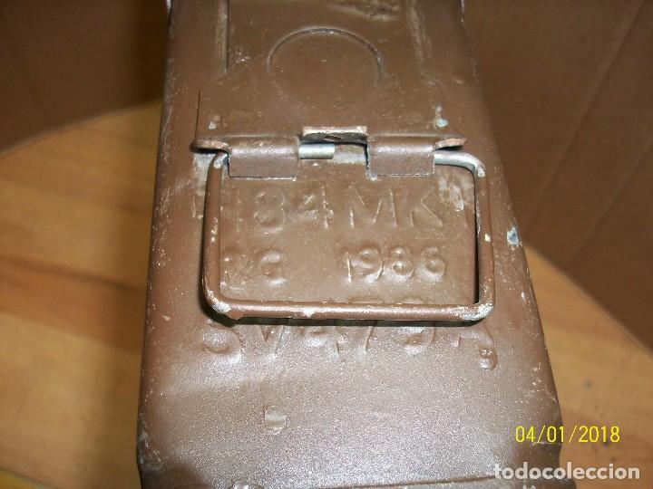 Militaria: CAJA VACIA DE MUNICION CALIBRE 7,62 - Foto 4 - 116870671