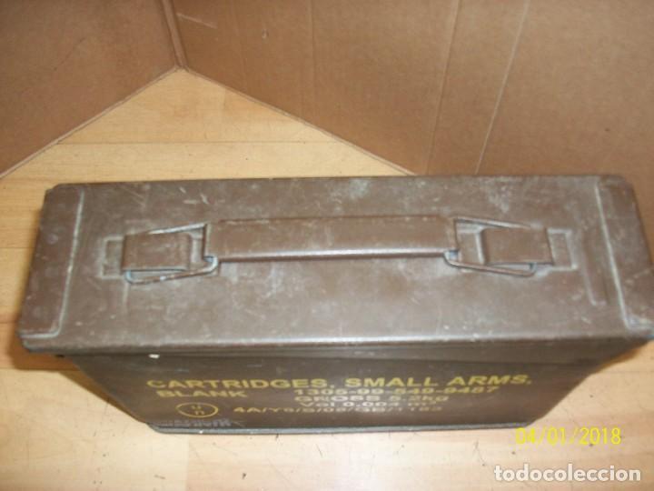 Militaria: CAJA VACIA DE MUNICION CALIBRE 7,62 - Foto 6 - 116870671