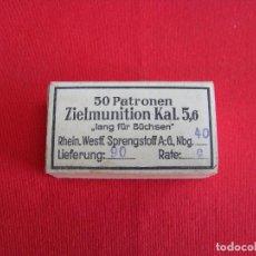 Militaria: 22 L.R.(EPOCA NAZI),INERTE. Lote 117979835