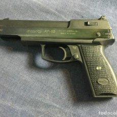 Militaria: PISTOLA GAMO AF 10 PERDIGONES 4,5 MM PISTOLA MANUAL DE BALINES AIRE COMPRIMIDO. Lote 118442771