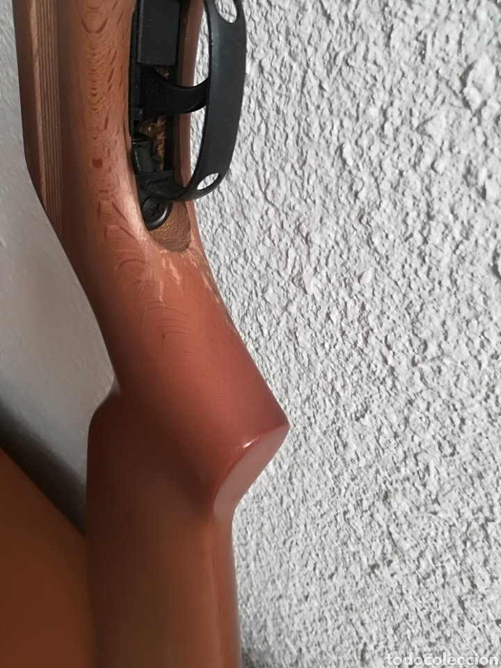 Militaria: Escopeta carabina aire comprimido Gamo 900 - años 80 caza vintage tiro perdigones - Caja original - Foto 12 - 119052499