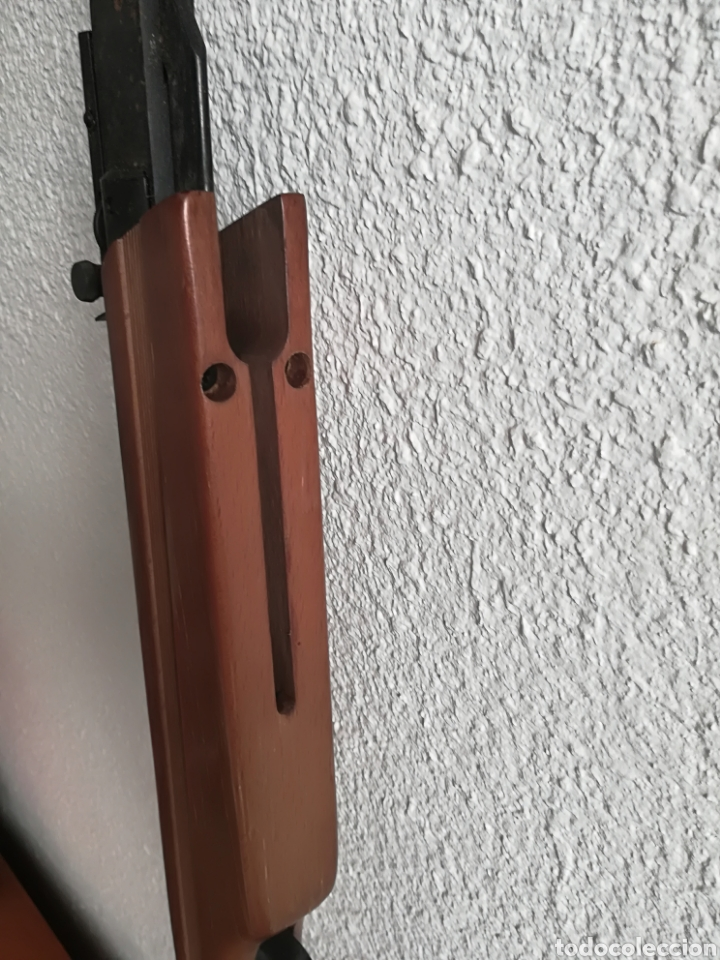 Militaria: Escopeta carabina aire comprimido Gamo 900 - años 80 caza vintage tiro perdigones - Caja original - Foto 16 - 119052499
