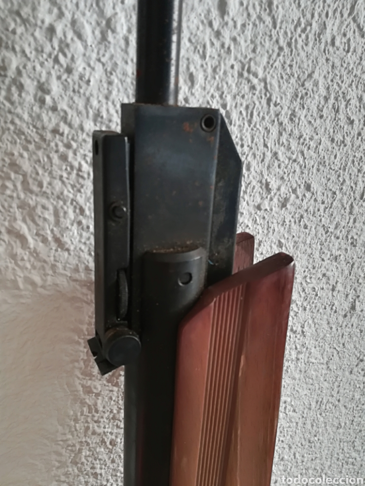 Militaria: Escopeta carabina aire comprimido Gamo 900 - años 80 caza vintage tiro perdigones - Caja original - Foto 20 - 119052499