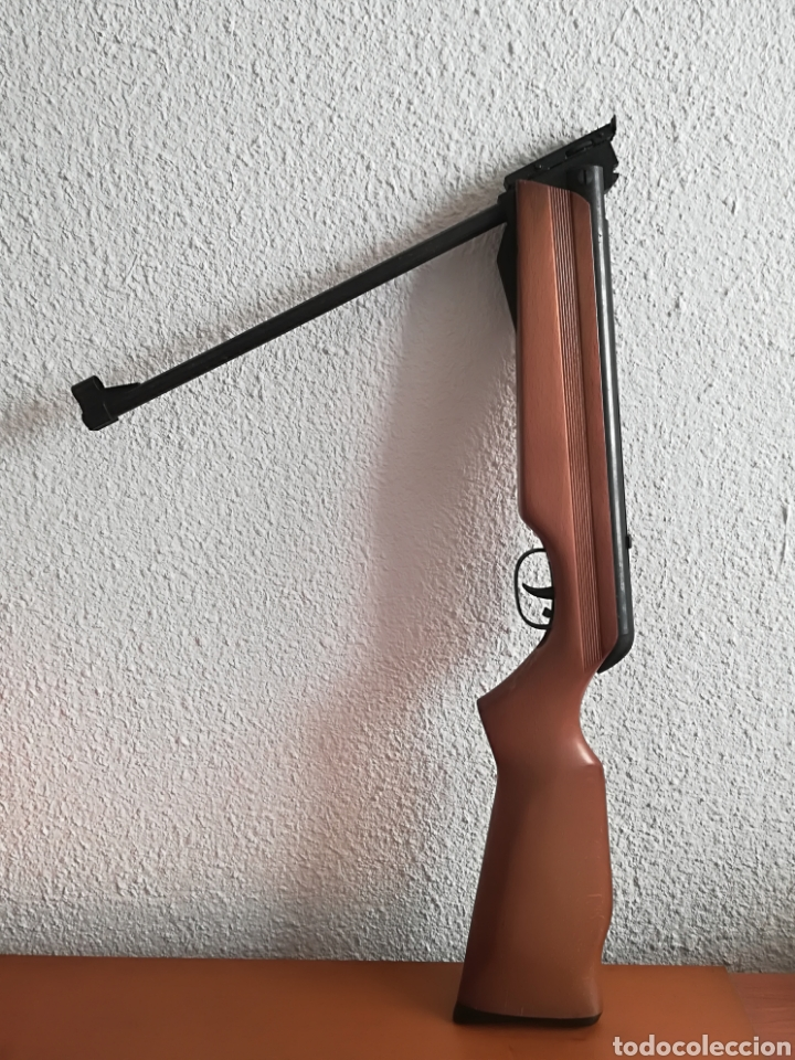 Militaria: Escopeta carabina aire comprimido Gamo 900 - años 80 caza vintage tiro perdigones - Caja original - Foto 21 - 119052499