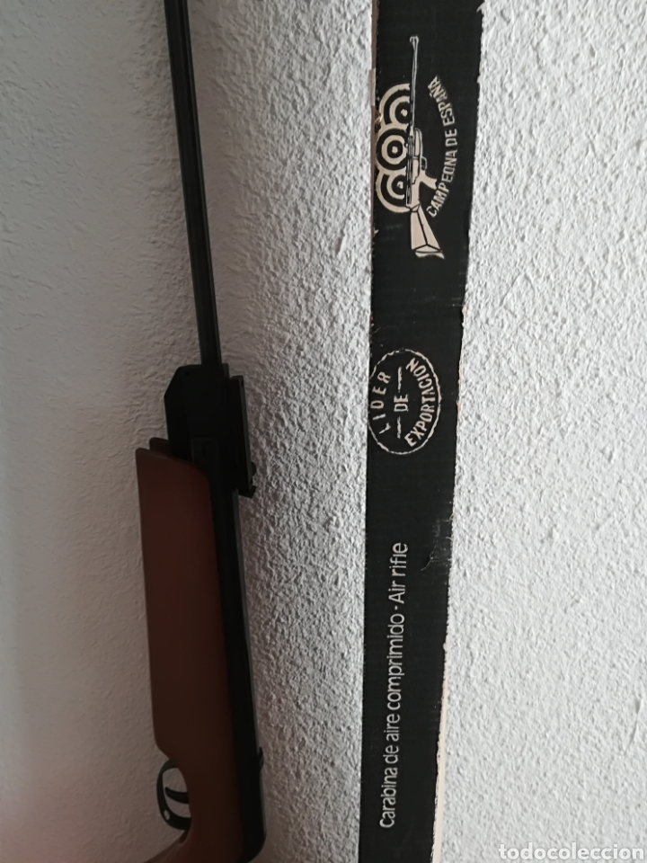 Militaria: Escopeta carabina aire comprimido Gamo 900 - años 80 caza vintage tiro perdigones - Caja original - Foto 38 - 119052499