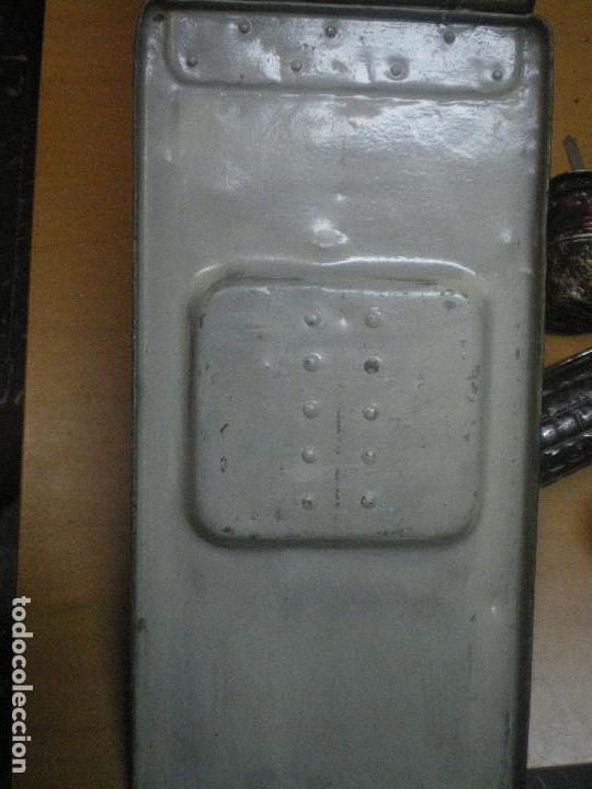 Militaria: CAJA MUNICION AMETRALLADORA MG 08 ALEMANA, GUERRA CIVIL - Foto 2 - 119334719