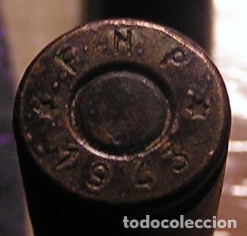 Militaria: 3 vainas munición fusil / años 40 - Foto 5 - 120449627