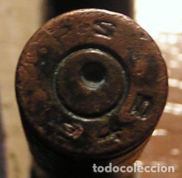 Militaria: 3 vainas munición fusil / años 40 - Foto 7 - 120449627