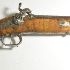 Militaria: PISTON FIMADA JUAN JOSE ALMEGUIBAR 1843 LIBRO COLECCIONISMO. Lote 122086535