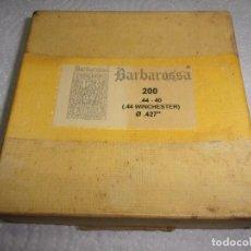 Militaria: CAJA PUNTAS 44-40 (WINCHESTER ) BARBAROSSA. Lote 124159599