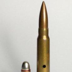 Militaria: 7,65 X 54 MAUSER BELGA FN ---CARTUCHO DE COLECCIÓN INERTE ---. Lote 125203859