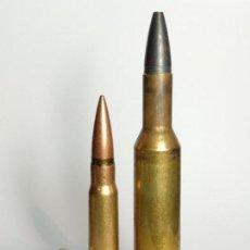 Militaria: .375 VIERSCO MAGNUM LONG NECK -CARTUCHO INERTE DE COLECCIÓN--. Lote 125207951