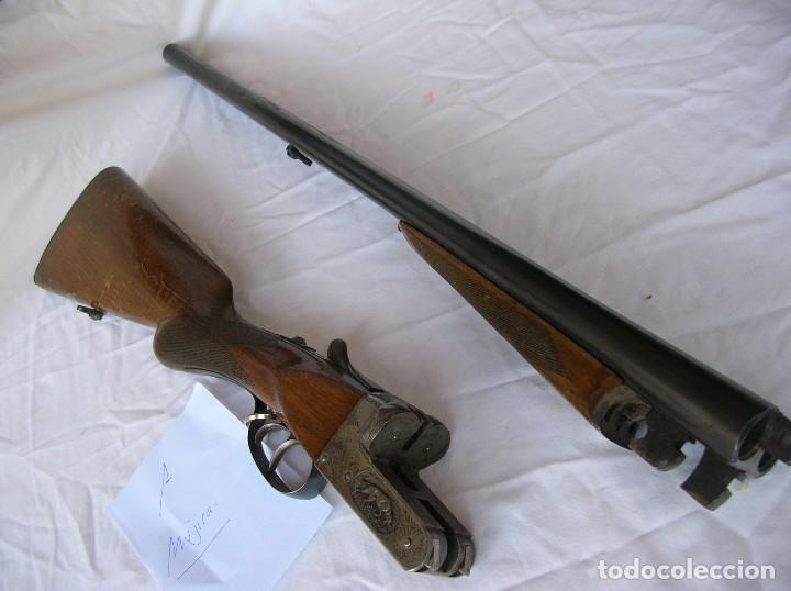 Militaria: Old ShotGun ,Alte Schrotflinte . Espingarda .Escopet .paralel.Cal.12. Mujica 2221.1940s . Papeles . - Foto 2 - 128924611