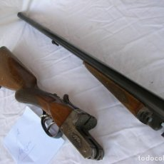 Militaria: OLD SHOTGUN , ESCOPETA PARALELA. CALIBRE 12. MUJICA 2221. AÑOS 50. OPERATIVA Y DOCUMENTADA . SPAIN .. Lote 128924611